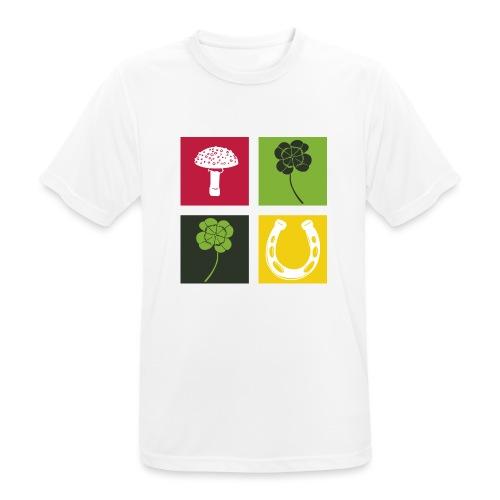 Just my luck Glück - Männer T-Shirt atmungsaktiv