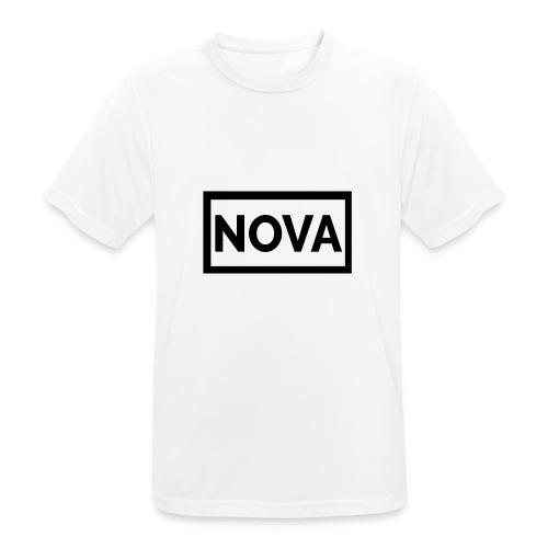 Red Nova Snapback - Men's Breathable T-Shirt