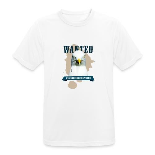 WANTED - Fischbrötchendieb - Männer T-Shirt atmungsaktiv