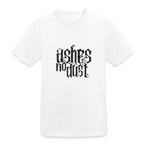 Black logo Ashes No Dust - T-shirt respirant Homme