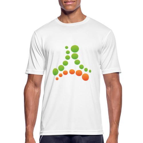 logotipo - Maglietta da uomo traspirante