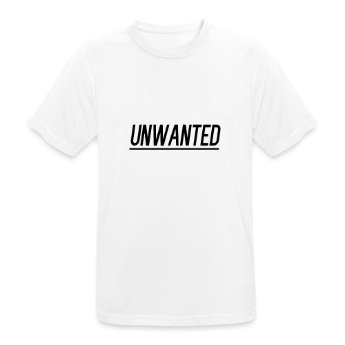 UNWANTED Logo Tee Black - Men's Breathable T-Shirt