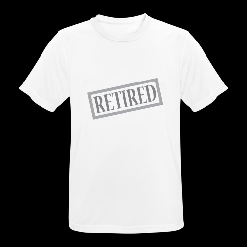 Retired - Camiseta hombre transpirable