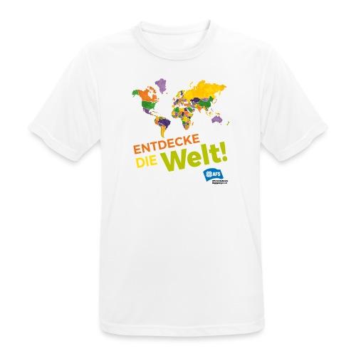 Entdecke die Vielfalt der Welt mit AFS - Männer T-Shirt atmungsaktiv