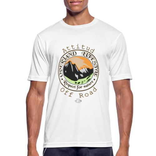 24 Overland LifeStyle - Camiseta hombre transpirable