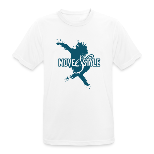 Move and Style Dance Academy - Männer T-Shirt atmungsaktiv