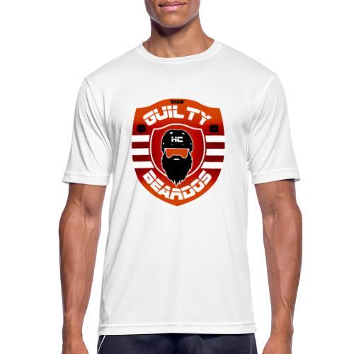 HC Guilty Beardos - miesten tekninen t-paita