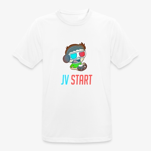 JVSTART Logo principal - T-shirt respirant Homme