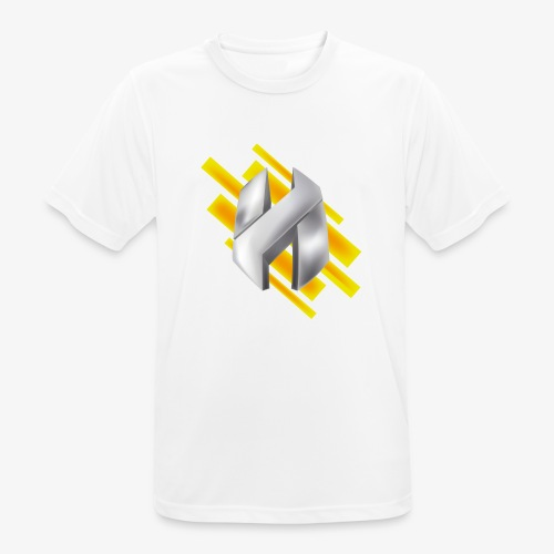 Abstract Yellow - Men's Breathable T-Shirt