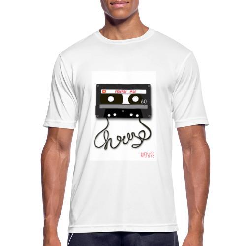 Cesette House Music - Koszulka męska oddychająca