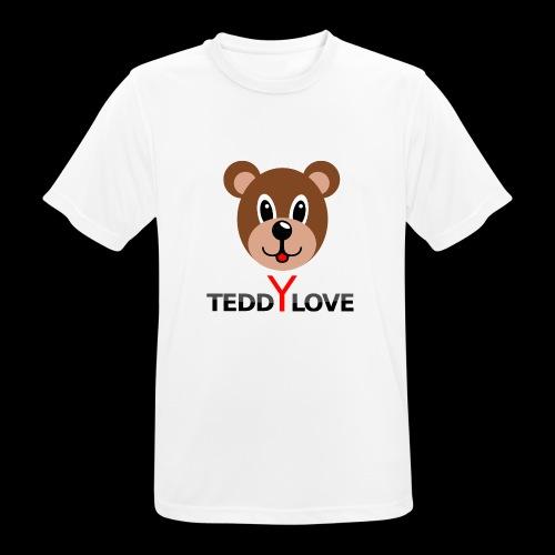 TEDDYLOVE COUTURE - Männer T-Shirt atmungsaktiv
