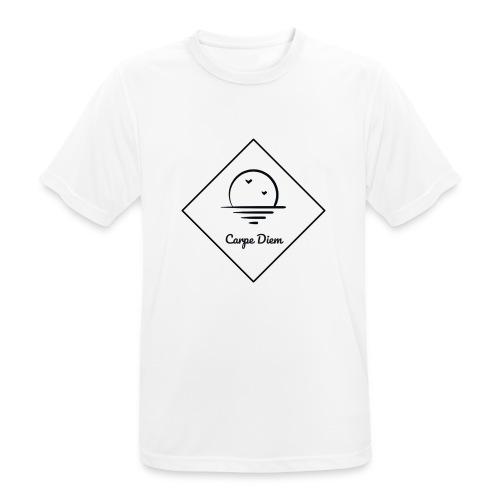 Carpe Diem - mannen T-shirt ademend