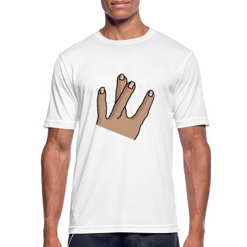 WestSide Fingers © - Men's Breathable T-Shirt