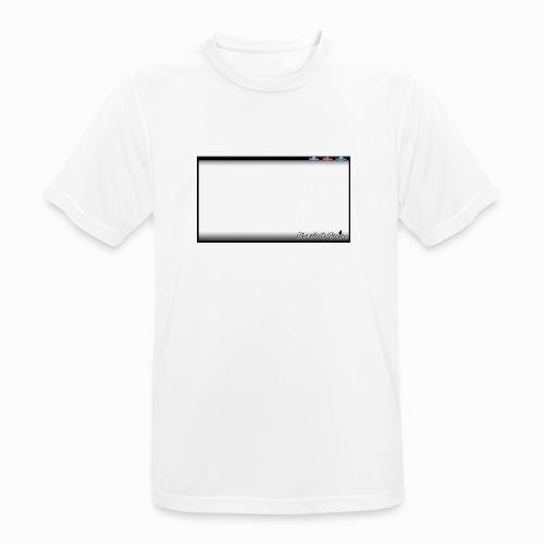 The Scots Review GO LIVE! Logo - Men's Breathable T-Shirt