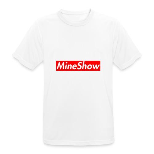 MineShow Box-Logo - Männer T-Shirt atmungsaktiv