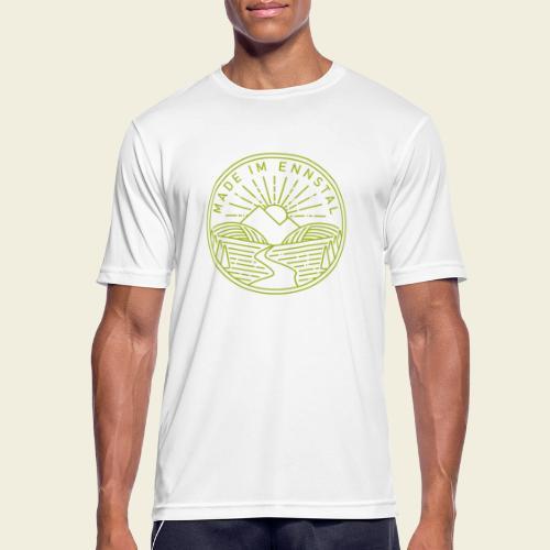 Made im Ennstal, grün - Männer T-Shirt atmungsaktiv