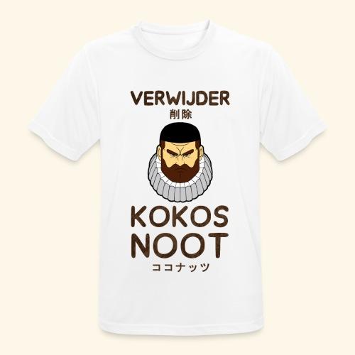 Verwijder Kokosnoot - Mannen T-shirt ademend actief