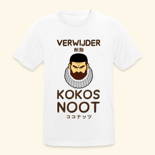 Verwijder Kokosnoot - mannen T-shirt ademend