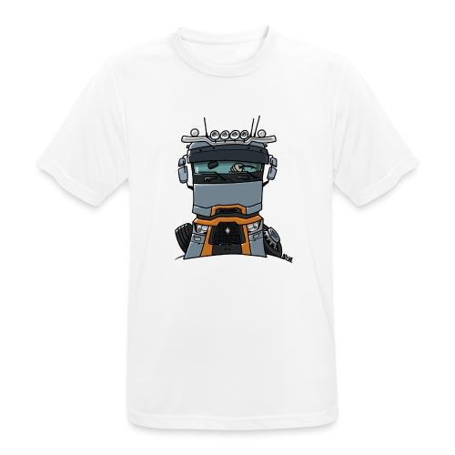 0813 R truck - Mannen T-shirt ademend