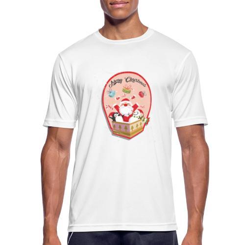 Merry Chrismas1 - T-shirt respirant Homme