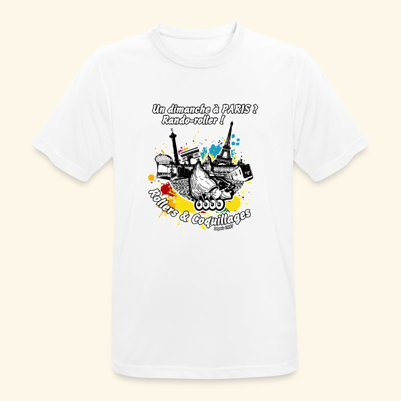 Splash - T-shirt respirant Homme