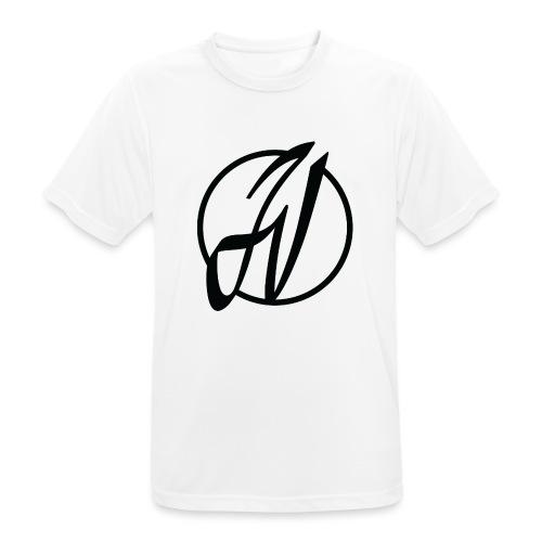 JV Guitars - logo noir - T-shirt respirant Homme