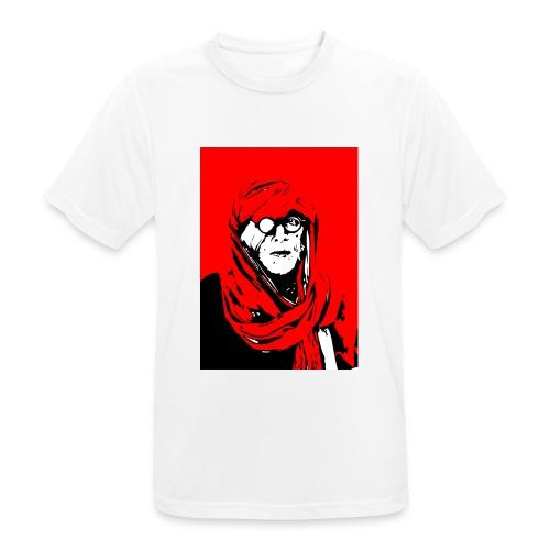 L'homme rouge représente la terre rouge d'Afrique. - T-shirt respirant Homme