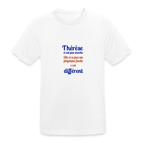 Thérèse - T-shirt respirant Homme