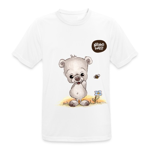 Noah der kleine Bär - Männer T-Shirt atmungsaktiv