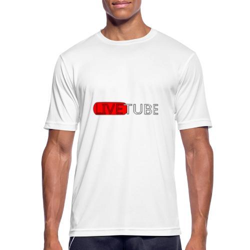Livetube - Herre T-shirt svedtransporterende