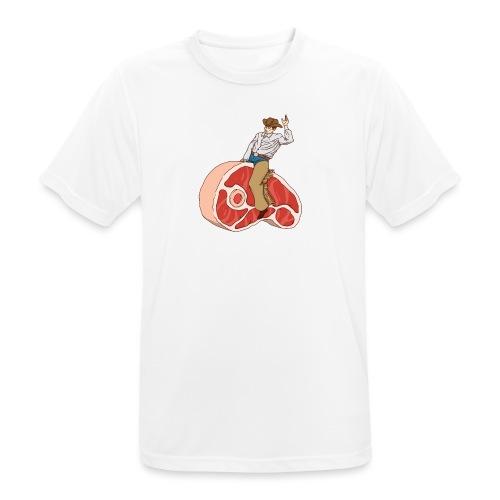 STEAK RODEO - Koszulka męska oddychająca