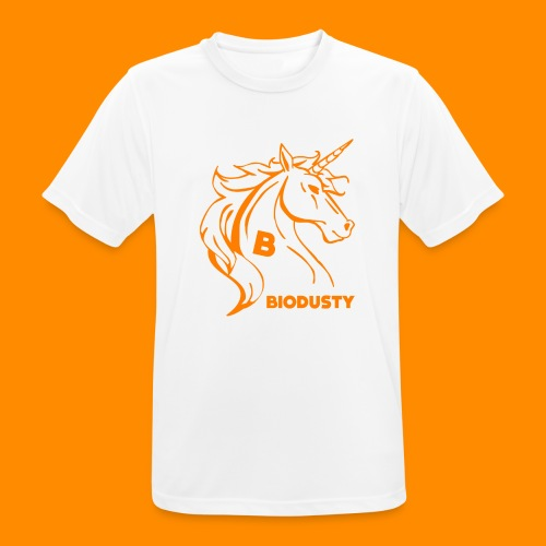 BIODUSTY UNICORN VROUWENSHIRT - Mannen T-shirt ademend