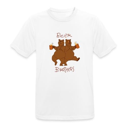 BEER BROTHERS - Koszulka męska oddychająca