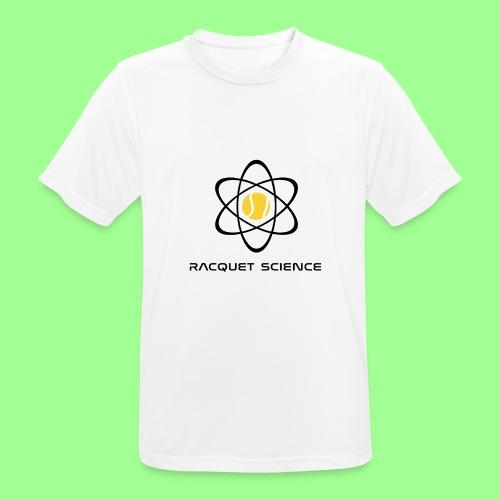 RACQUET SCIENCE - Koszulka męska oddychająca
