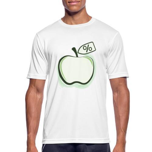 Sund på budget logo - Herre T-shirt svedtransporterende