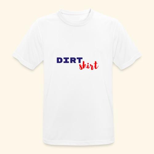 The Dirt shirt - Mannen T-shirt ademend actief
