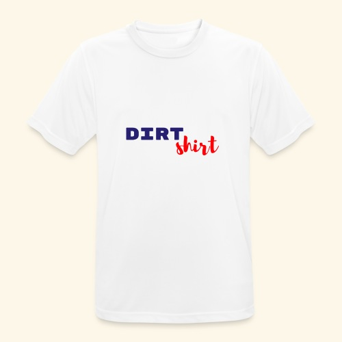 The Dirt shirt - mannen T-shirt ademend