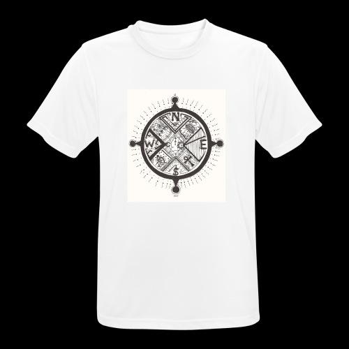 La Maison Des Mains Angel Cove - Men's Breathable T-Shirt