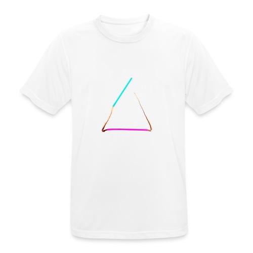3eck - Dreieck - triangle - Männer T-Shirt atmungsaktiv