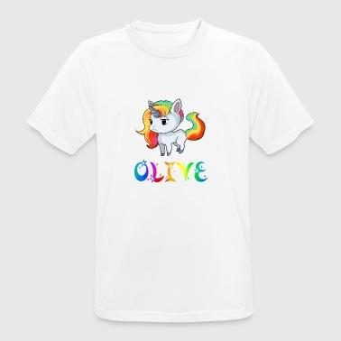 Unicorn Olive - T-shirt respirant Homme