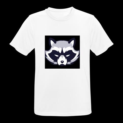 WaschbeerKopf Logo :) - Männer T-Shirt atmungsaktiv