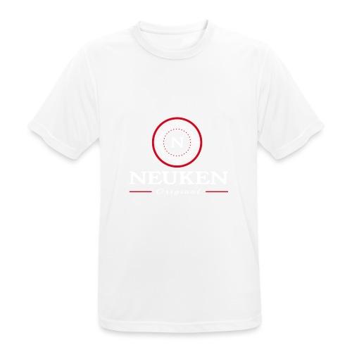 neuken original white - Mannen T-shirt ademend actief