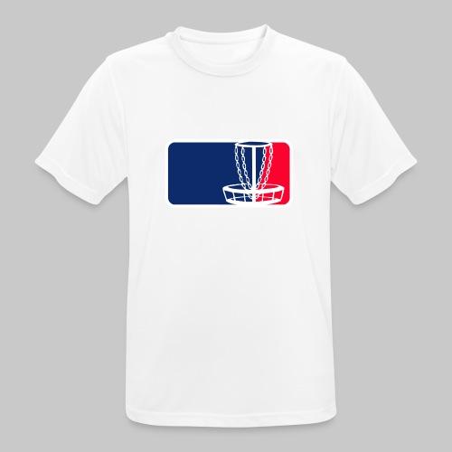 Disc golf - miesten tekninen t-paita