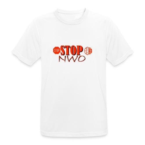 STOPNWO1 - Koszulka męska oddychająca