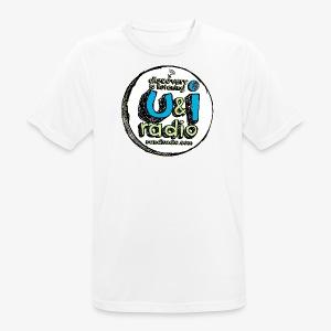 U & I Logo - Men's Breathable T-Shirt