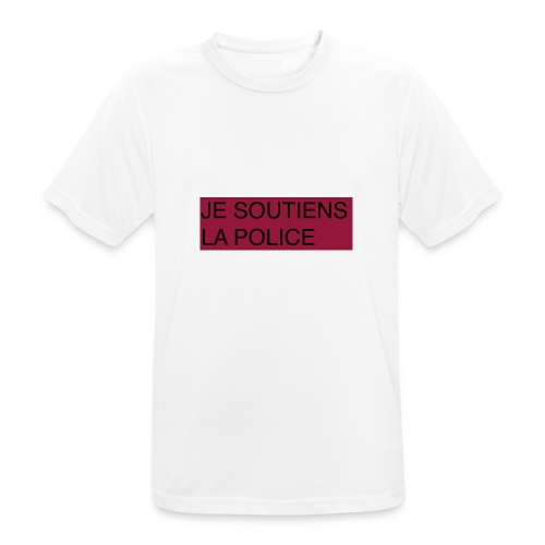 SOUTIENS POLICE - T-shirt respirant Homme