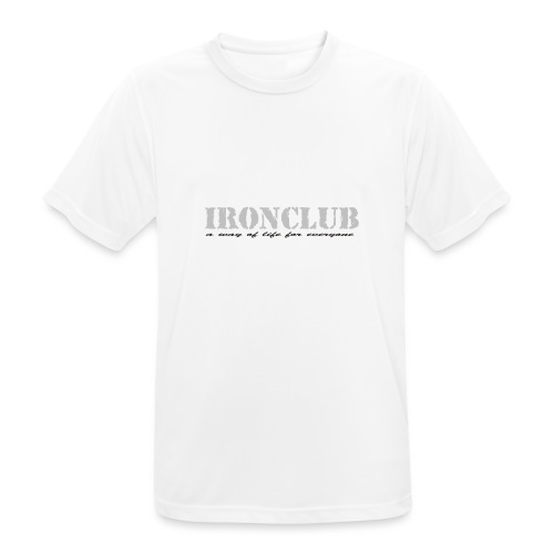IRONCLUB - a way of life for everyone - Pustende T-skjorte for menn