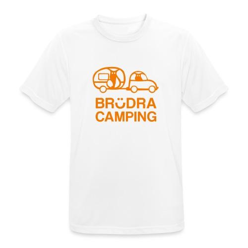 Brödra orange - Andningsaktiv T-shirt herr