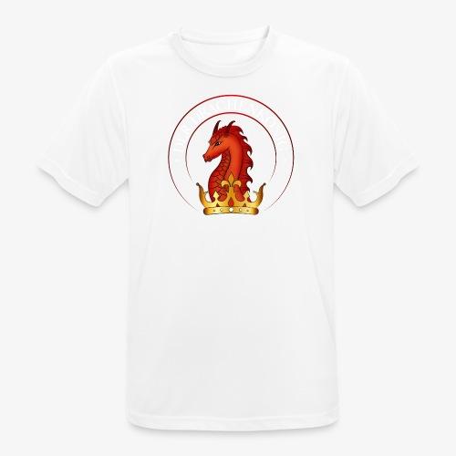 Drachenkoenig Logo - Männer T-Shirt atmungsaktiv