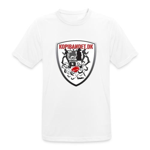 KopiBandet.DK Våbenskjold - Herre T-shirt svedtransporterende